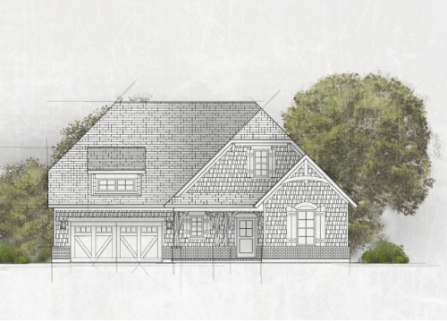 drawing of home exterior